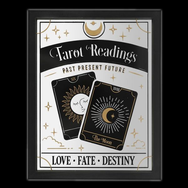 Mirrored Wall Hanging - Tarot Reading