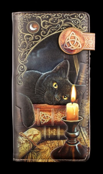 Purse with Cat - Witching Hour - embossed