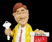 Funny Job Figurine - Estate Agent