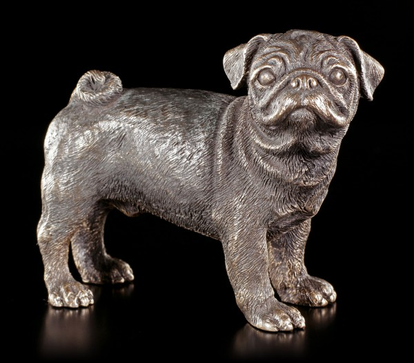 Dog Figurine - Pug standing