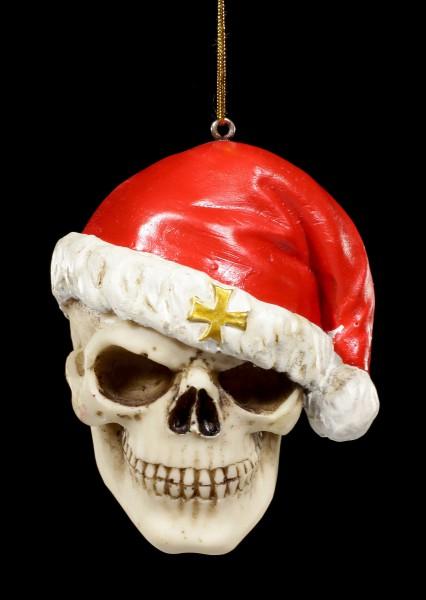 Totenkopf Weihnachts Deko - Santa is Dead