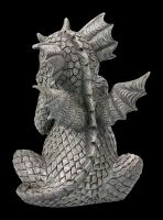 Garden Figurine - Dragon Laughs up his Sleeve small