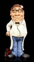 Funny Job Figurine - Doctor with Headlamp
