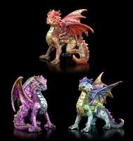 Dragon Figurines Set of 3 - Scaled Squad