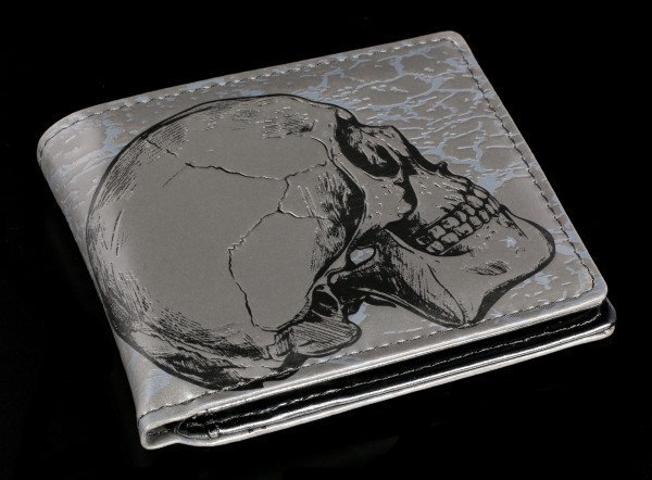 Men Wallet with Skull - Memento Mori