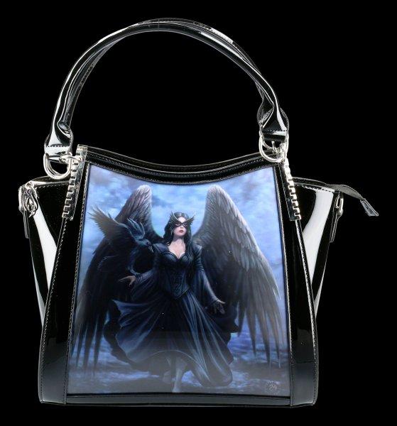 Lack Handtasche 3D - Raven
