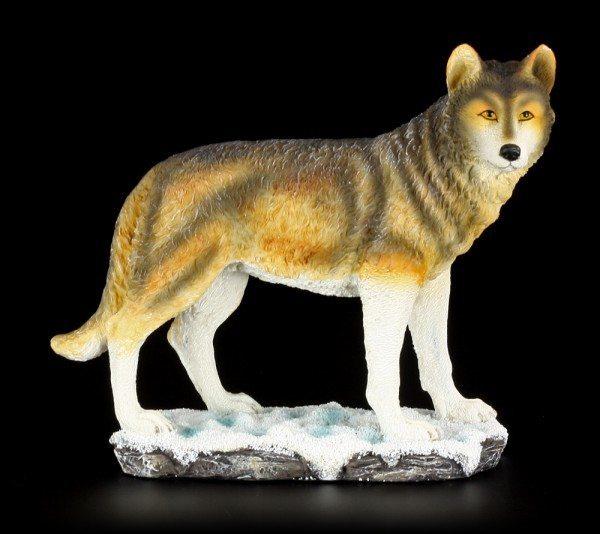 Wolf Figur - stehend