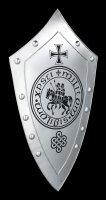 Knights Templar Shield - Sigillum Militum