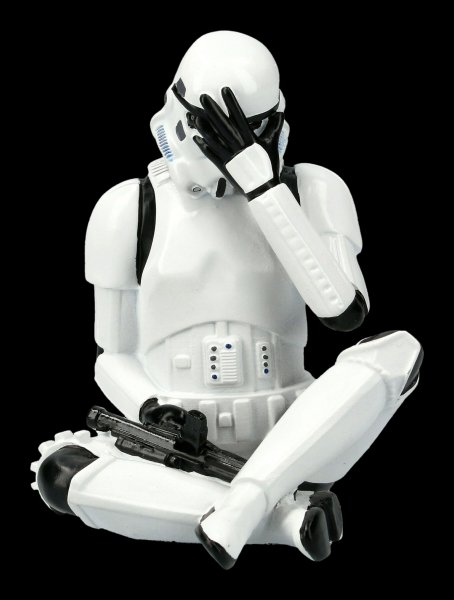 Stormtrooper Figur - Nichts böses sehen