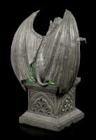 Gargoyle Figur mit LED Beleuchtung