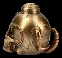 Steampunk Skull - Pipe Up