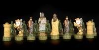 Schachfiguren Set - Ritter gegen Araber
