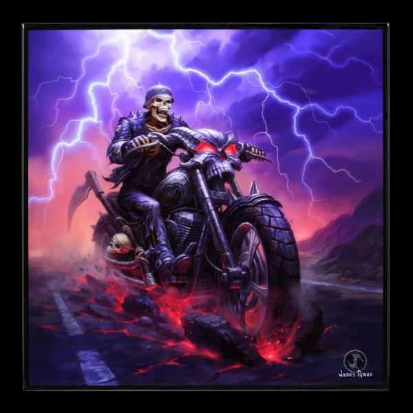 Kleines Hochglanz Bild mit Reaper - Hell on the Highway
