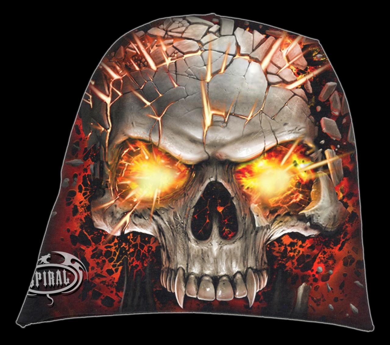 Spiral Totenkopf Beanie - Skull Blast