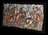 Relief - Schlacht bei Hattin - Kreuzfahrer vs. Ayyubiden