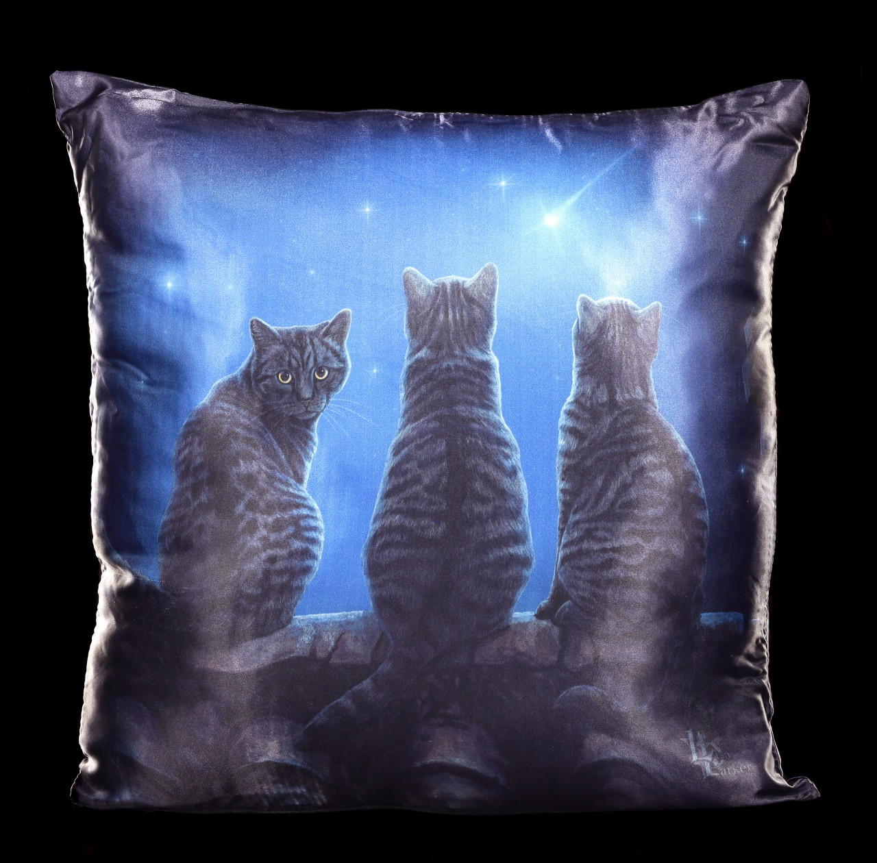Cushion with Cats - Wish Upon A Star