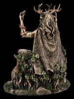 Cernunnos Figurine - Celtic God with Animals