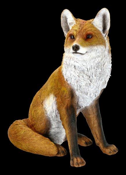 Garden Figurine - Sitting Fox