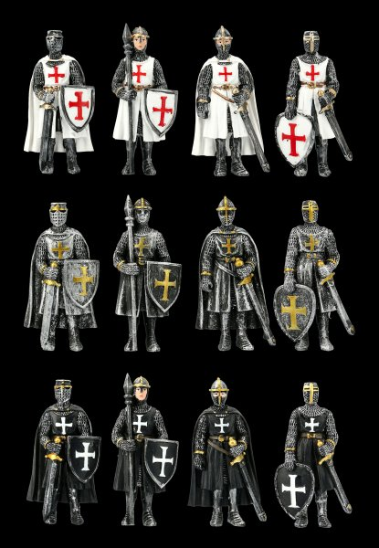 Fridge Magnets - Knights Set of 12