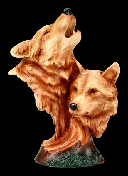 Wolf Bust - Natural Call