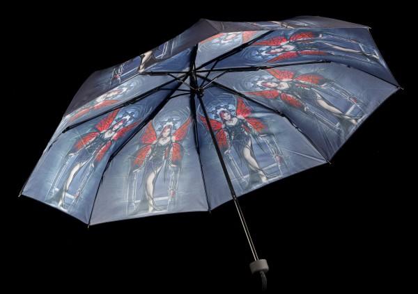 Regenschirm mit Elfe - Aracnafaria