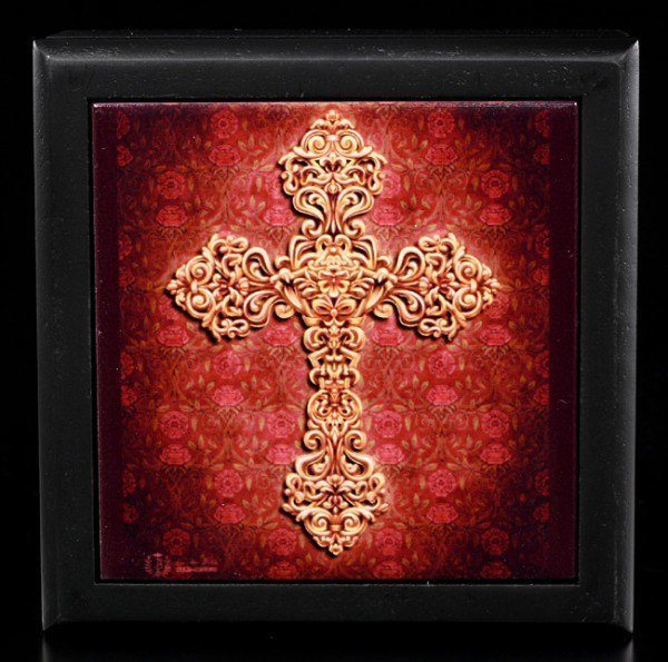 Schmuckbox klein - Nouveau Cross