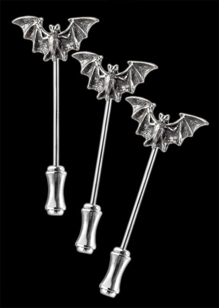 Bat - Alchemy Gothic Dress Pins