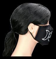 Face Covering Mask - Triple Moon Pentagrams