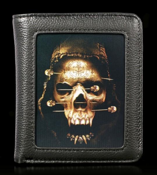 Wallet with 3D Skull - Death Fetish