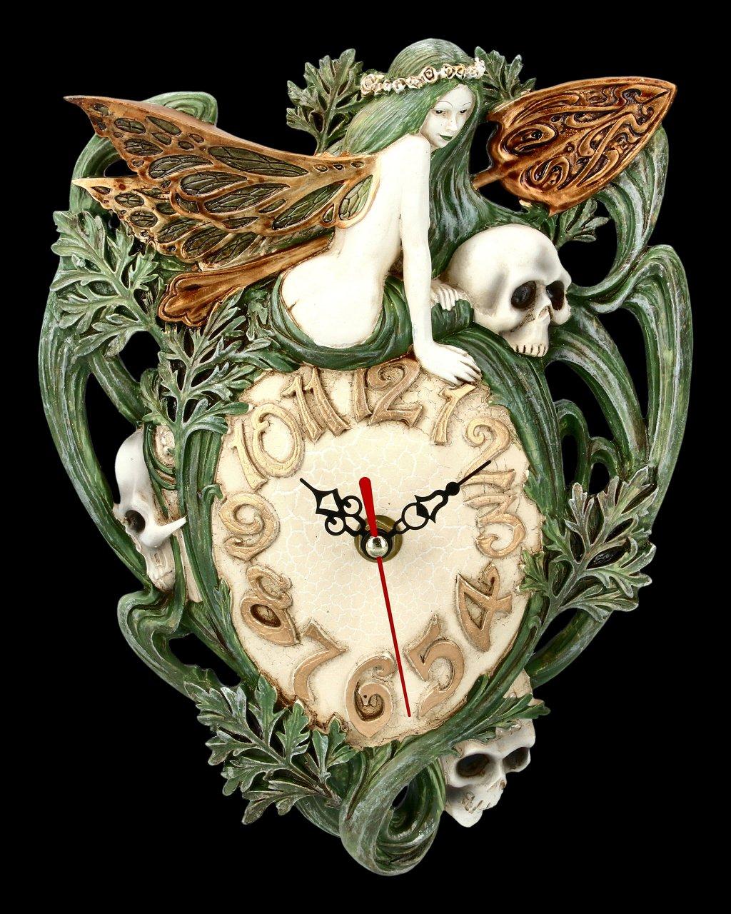 Alchemy The Vault - Wall Clock Artemisia Absinthum