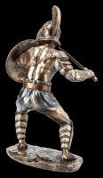 Gladiator Figur - Murmillo im Kampf mit Schwert