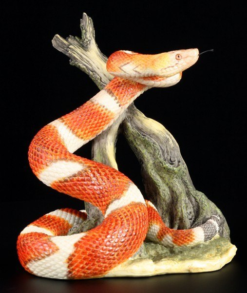 Snake Figurine - Copperhead