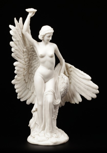 Hebe with the Eagle of Jupiter - Figure white
