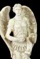 Kleine Erzengel Figur - Gabriel - Weiß