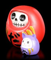 Furry Bones Figurine - Daruma