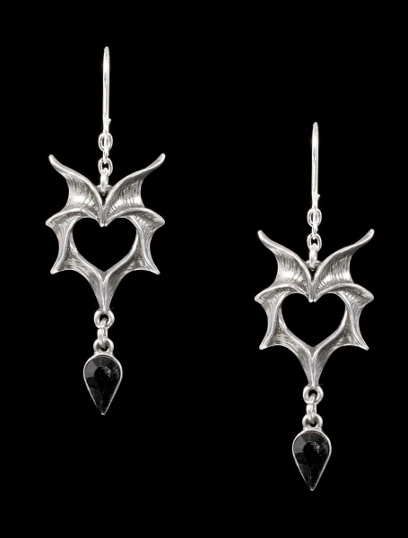 Alchemy Earrings - Love Bats
