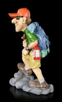 Funny Sports Figurine - Hiker