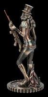 Steampunk Figurine - Wild West Warrior with Cat