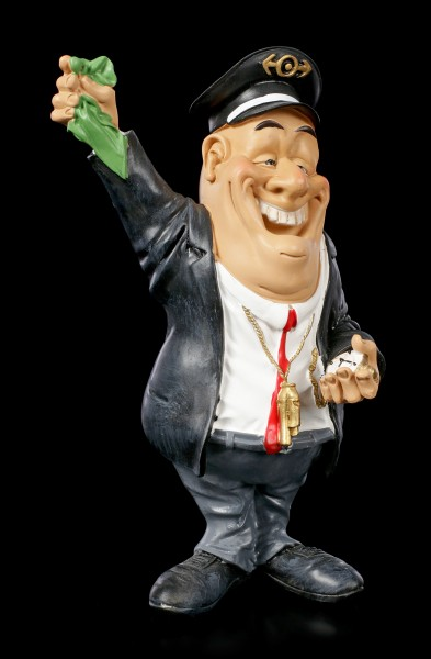 Funny Job Figurine - Railroad Conductor
