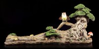 Tree Ent Figurine - Lying with Owl