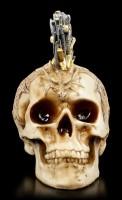 Totenkopf mit Schwerter-Iro - Sword Hawk groß