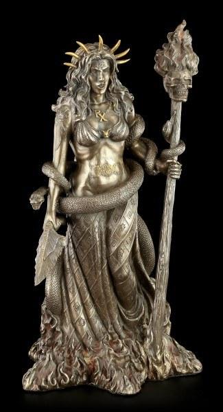 Hekate Figur - Griechische Göttin der Magie