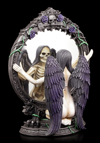 Dark Angel Figurine - Reflection of Destiny