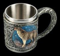 Fantasy Krug - Einsamer Wolf heulend