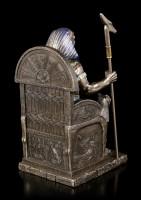 Horus Figur - Krieger auf Thron