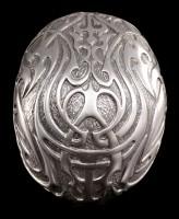 Tribal Skull medium silver