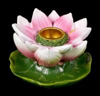 Backflow Incense Cone Holder - Lotus Bloom