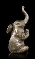 Elephant Figurine - Applauding