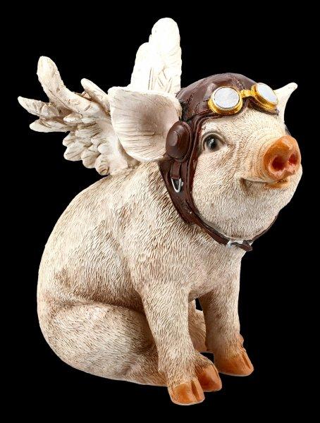 Schweine Figur - When Pigs Fly