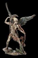 Erzengel Uriel Figur mit Feuerbogen